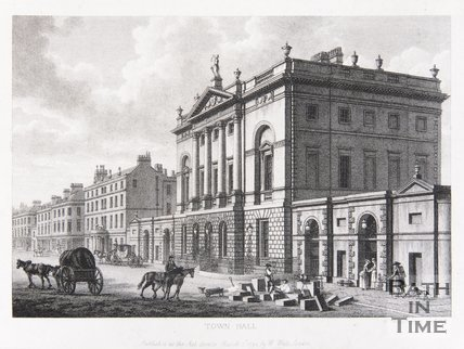 Town Hall (Guildhall), Bath, 1794