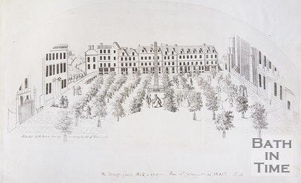 The Orange Grove, Bath, in 1737