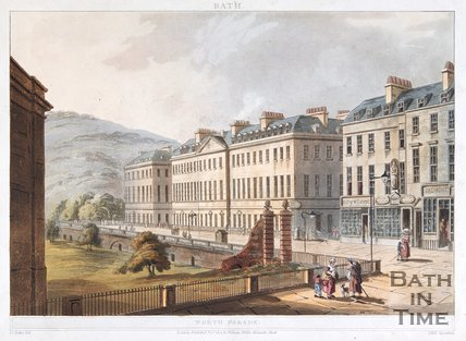 North Parade, Bath, 1804