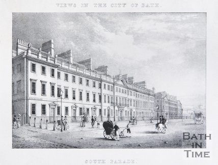 South Parade, Bath, c.1830