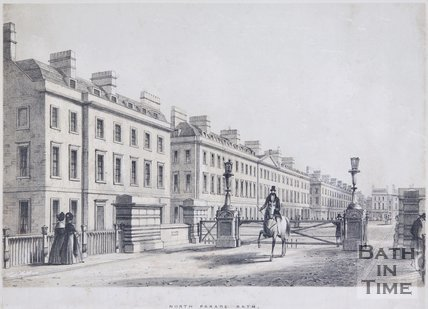 North Parade, Bath, c.1837