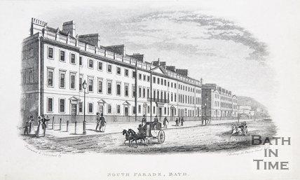 South Parade, Bath, c.1837