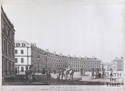 The Circus at Bath, 1784