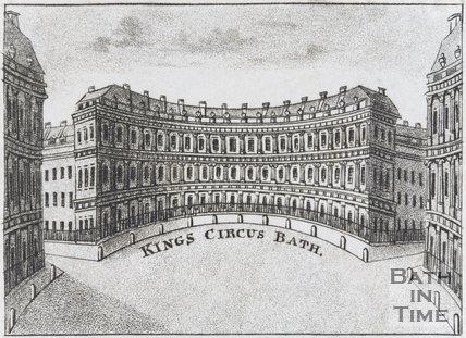 Kings Circus Bath, c.1770