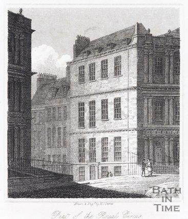 Part of the Royal Circus, Bath, 1818