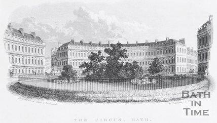 The Circus, Bath, c.1835