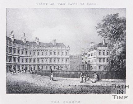 The Circus, Bath, 1829