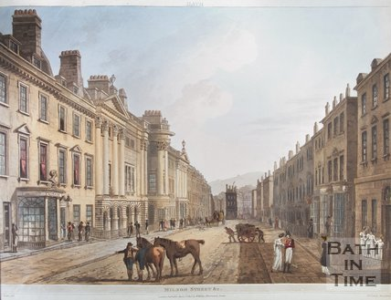 Milsom Street & c, Bath, 1805