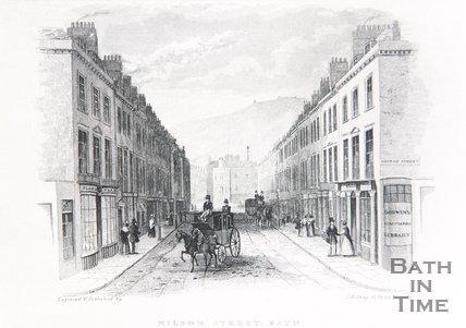 Milsom Street, Bath, c.1837