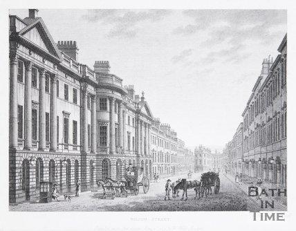 Milsom Street, Bath, 1794