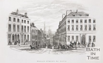Broad Street, & c, Bath, c.1845