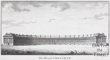 The Royal Crescent, Bath, c.1774