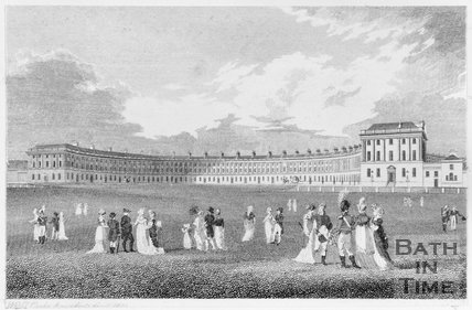 Royal Crescent, Bath, 1804