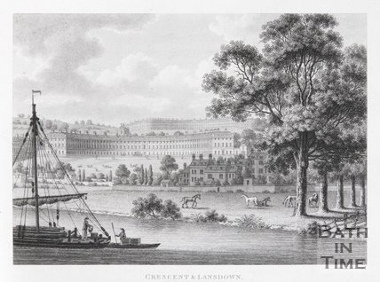 Crescent & Lansdown, Bath, 1794
