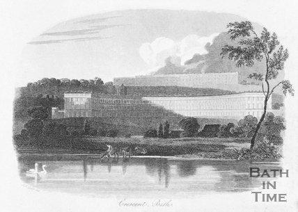 Royal Crescent, Bath, 1813