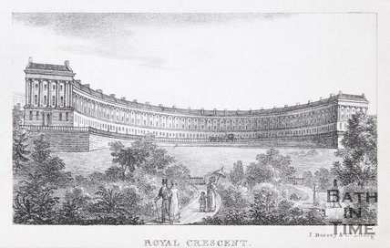Royal Crescent, Bath, 1823