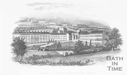 Green Park Buildings, & c. Bath, c.1837