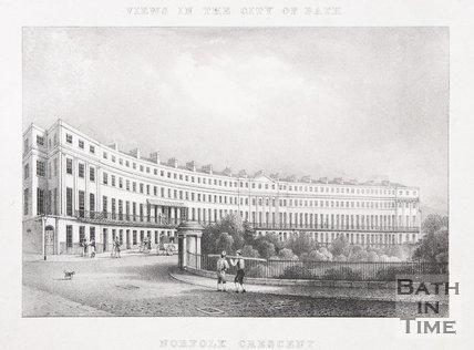 Norfolk Crescent, Bath, 1829