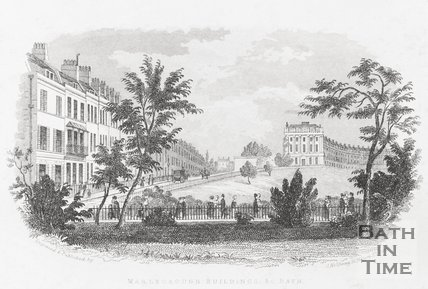 Marlborough Buildings & c. Bath, c.1845
