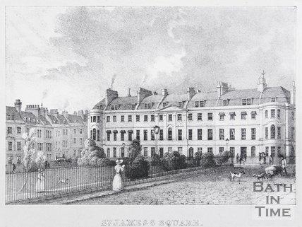 St. James's Square, Bath, 1829