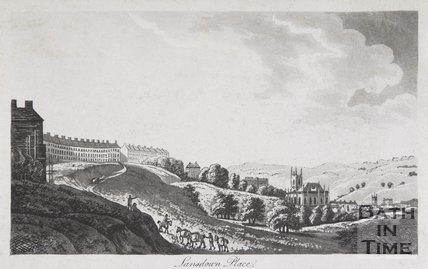 Lansdown Place, Bath, 1792