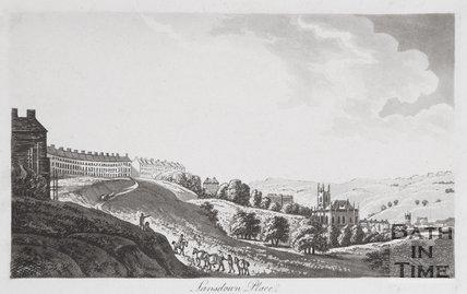 Lansdown Place, Bath, 1792