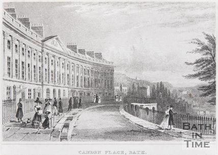 Camden Place, Bath, 1829