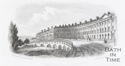 Camden Place, Bath, c.1845