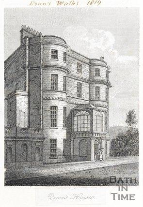 Queen's House, Sydney Place, Bath, 1818