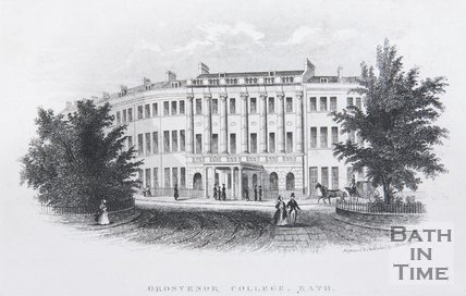 Grosvenor College, Bath, c.1845