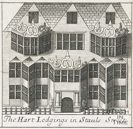 The White Hart Lodgings in Stauls Stall Street, Bath, Gilmore, 1694-1717