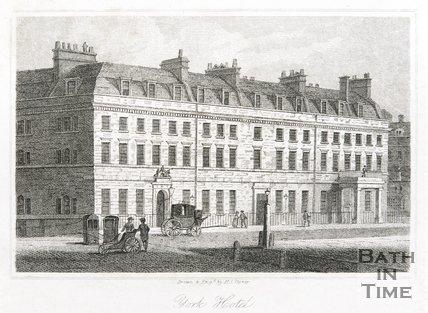 York Hotel, George Street, 1818