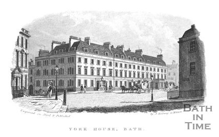 York House, George Street, Bath, 1837