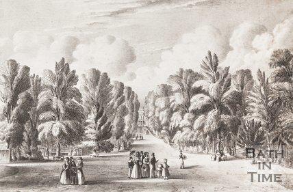 Sydney Gardens, Bath, 1840