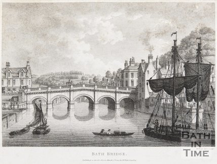 The Old Bath Bridge, 1794
