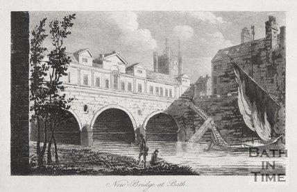 New Bridge at Bath, 1792