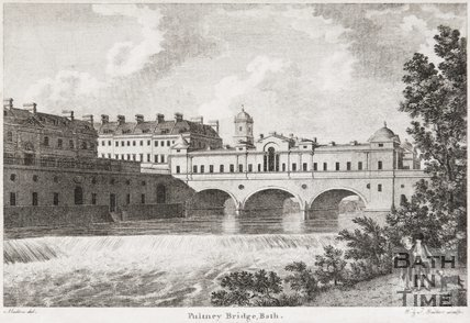 Pulteney Bridge, Bath, 1788