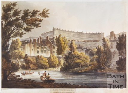 Bathwick Ferry, Bath, 1805