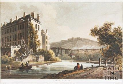 South Parade, Bath 1804