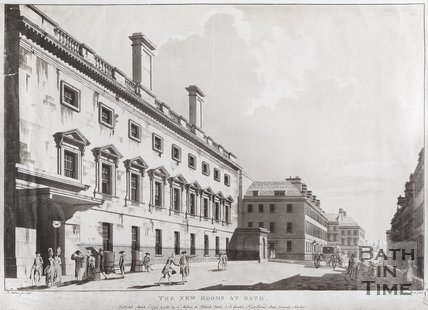 The New Rooms at Bath, 1779