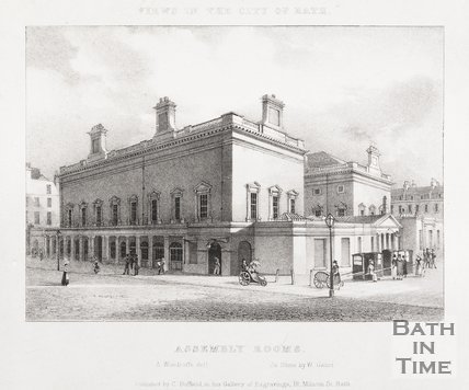 Assembly Rooms, Bath, 1829