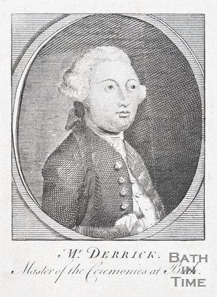 Portrait of Samuel Derrick - Master of Ceremonies