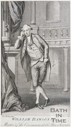 Portrait of William Dawson Esqr, Master of the Ceremonies at the New Rooms, 1779