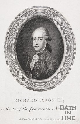 Portrait of Richard Tyson Esq, Master of the Ceremonies, New Rooms, 1782