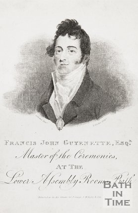 Portrait of Francis John Guyenette Esq. Master of Ceremonies at the Lower Assembly Rooms, Bath,