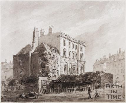Bath Gaol, Grove Street, 1780