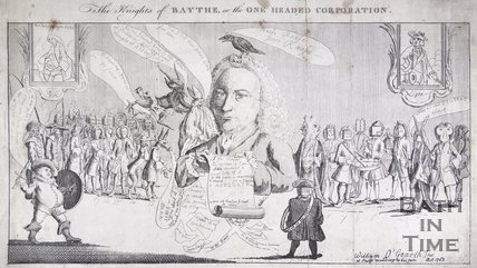 The Knights of Baythe, or the One Headed Corporation, 1753