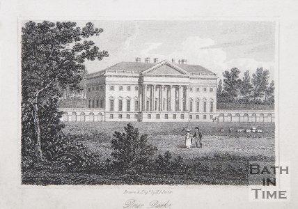 Prior Park, Bath, 1818
