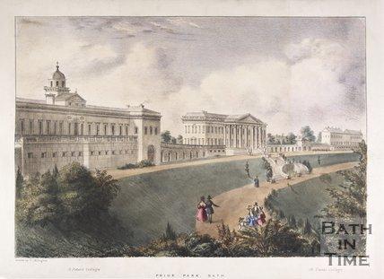 Prior Park, Bath, c.1836