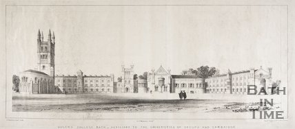 Queen's College, Bath - Auxiliary to the Universities of Oxford and Cambridge, 1839